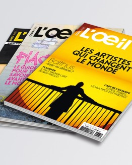 Magazine l'Oeil - Couverture