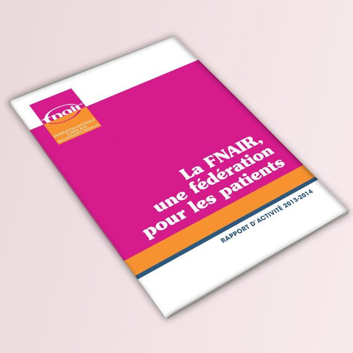 Rapport annuel FNAIR - Couverture