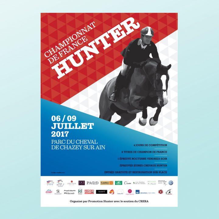 affiche championnat de france hunter
