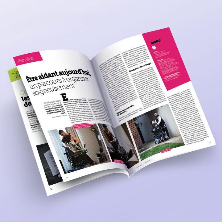 pages intérieures de VLM magazine de l'AFM Théléton